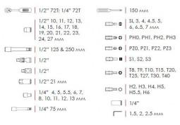 Набор инструментов Intertool ET-6072 SP фото