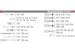 Набор инструментов Intertool ET-6046 описание