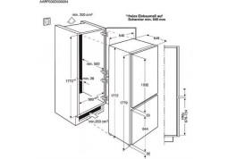 Встраиваемый холодильник Electrolux ENN12800AW недорого