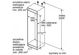 Встраиваемый холодильник Bosch KIN 86KF31 недорого