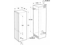 Встраиваемый холодильник Gorenje RKI2181E1 дешево