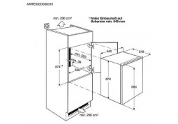 Встраиваемый холодильник Electrolux ERN1400AOW в интернет-магазине