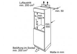 Встраиваемый холодильник Bosch KIL18V20FF - Интернет-магазин Denika