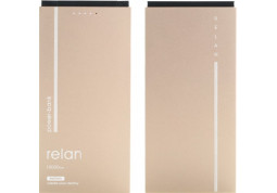 Powerbank аккумулятор Remax Power Bank Relan RPP-65 10000 mah Gold