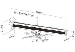 Крепление для проектора Brateck PRB-19 стоимость