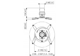 Крепление для проектора Vogels PPC 1500 - Интернет-магазин Denika