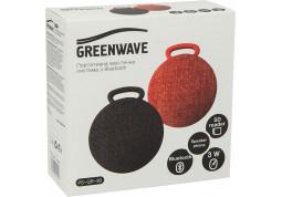 Портативная акустика Greenwave PS-QR-36 Red (R0014181) - Интернет-магазин Denika