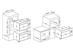 Встраиваемая пароварка Smeg SF4120V описание
