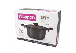 Кастрюля Fissman Diamond Grey 4304 фото