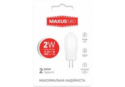 Лампочка Maxus 1-LED-207 2W 3000K G4 12V