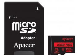 Apacer microSDHC R85 UHS-I U1 Class 10 16Gb - Интернет-магазин Denika