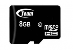 Карта памяти Team Group 8 GB microSDHC Class 10 + SD Adapter TUSDH8GCL1003