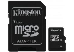 Карта памяти Kingston microSDHC Class 10 16Gb