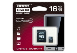Карта памяти GOODRAM microSDHC Class 10 16Gb стоимость