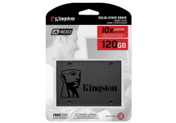 SSD накопитель Kingston A400 SS37/120G цена