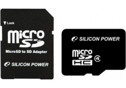 Silicon Power microSDHC Class 4 8Gb - Интернет-магазин Denika