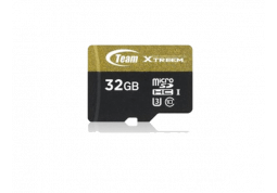 Карта памяти  Team Group 16 GB microSDHC Xtreem UHS-I/U3 Class 10 + SD-adapter (TUSDH16GUHS03)