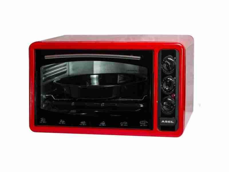 Электродуховка Asel AF-0123 Red
