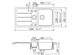 Кухонная мойка Schock Formhaus D-150 описание