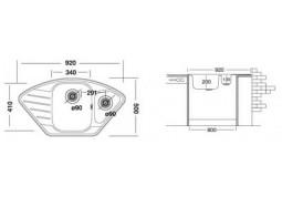 Кухонная мойка Interline EX 191 купить