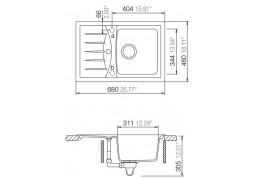 Кухонная мойка Schock Genius D-100S описание