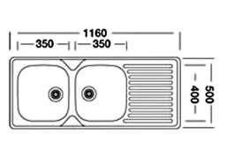 Кухонная мойка Interline EC 138 недорого