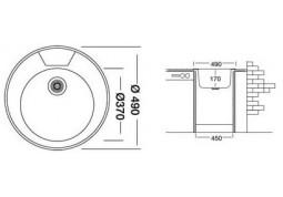 Кухонная мойка Interline EC 145 недорого