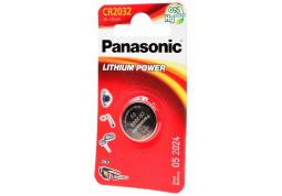 Аккумуляторная батарейка Panasonic CR-2032 bat(3B) Lithium 1шт (CR-2032EL/1B)