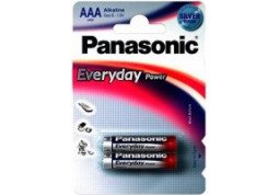Батарейка Panasonic AAA bat Alkaline 2шт Everyday Power (LR03REE/2BR)