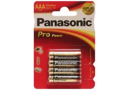Батарейка Panasonic AAA bat Alkaline 4шт Pro Power (LR03XEG/4BP)