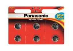 Аккумуляторная батарейка Panasonic CR-2025 bat(3B) Lithium 6шт (CR-2025EL/6B)
