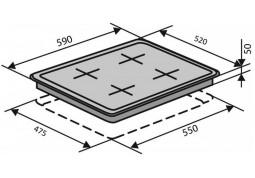 Варочная поверхность VENTOLUX HSF640-B3 C (MLX) цена