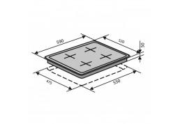 Варочная поверхность VENTOLUX HSF640-D3 C (BK) дешево