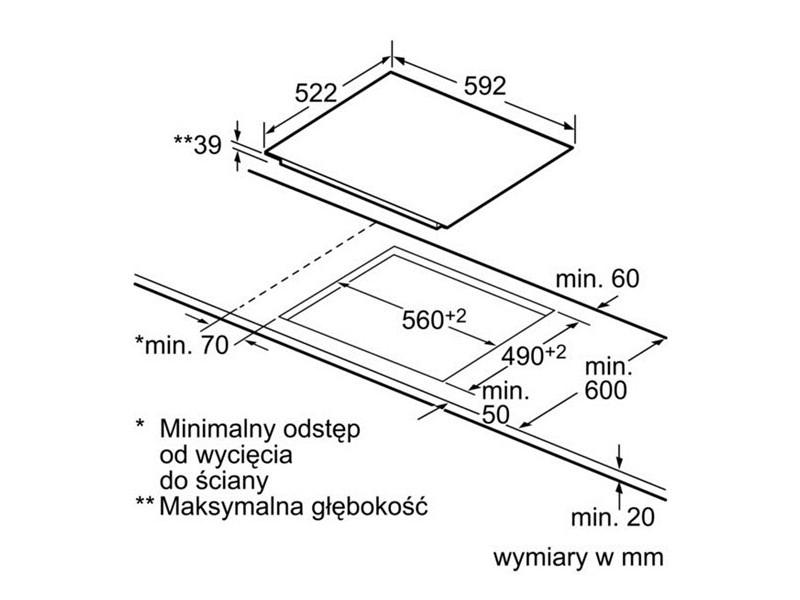Варочная поверхность Bosch PKE 611 B17E дешево
