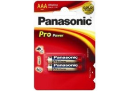 Батарейка Panasonic AAA bat Alkaline 2шт Pro Power (LR03XEG/2BP)