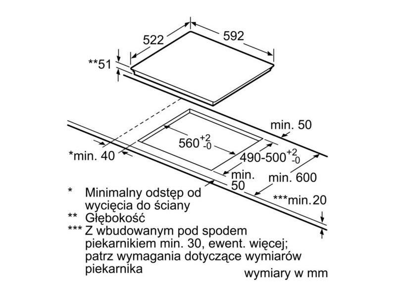 Варочная поверхность Bosch PUE611FB1E цена