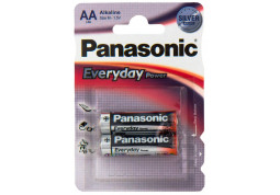 Батарейка Panasonic AA bat Alkaline 2шт Everyday Power (LR6REE/2BR)
