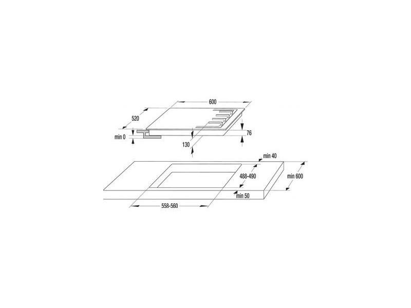Варочная поверхность Gorenje G 640 W в интернет-магазине