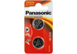 Аккумуляторная батарейка Panasonic CR-2016 bat(3B) Lithium 2шт (CR-2016EL/2B)