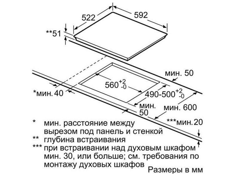 Варочная поверхность Bosch PUE611BB1E описание