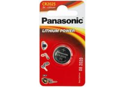 Аккумуляторная батарейка Panasonic CR-2025 bat(3B) Lithium 1шт (CR-2025EL/1B)