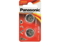 Аккумуляторная батарейка Panasonic CR-2025 bat(3B) Lithium 2шт (CR-2025EL/2B)