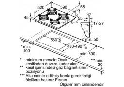 Варочная поверхность Bosch POH 6C6 B11O цена