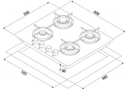 Варочная поверхность Minola MGG 61005 BL описание