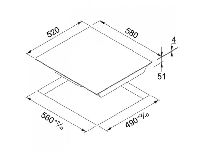 Варочная поверхность Franke FHSM 604 4I WH (108.0495.507) в интернет-магазине