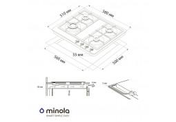 Варочная поверхность Minola MGM 61421 WH стоимость