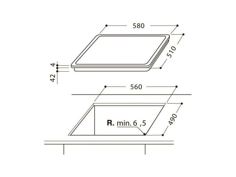 Варочная поверхность Hotpoint-Ariston HR 632 B дешево