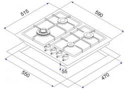 Варочная поверхность Minola MGM 61215 I в интернет-магазине