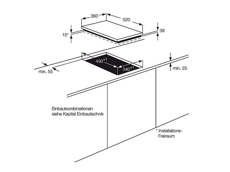 Варочная поверхность AEG HC 452021 EB цена