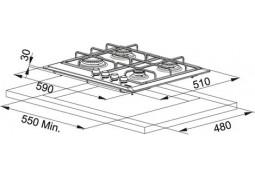 Варочная поверхность Franke FHMR 604 4G XS E (106.0049.038) фото